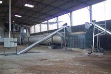 Secador de Biomassa (Cavaco, serragem, bagaço de cana, lodo)