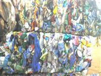 PP galão de água moído e lavado