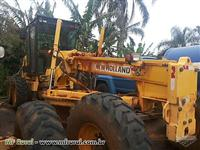 MOTONIVELADORA NEW HOLLAND RG140B ANO 2008