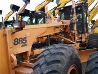 MOTONIVELADORA CASE 885 AWD ANO 2008 COM APENAS 80HORAS DE USO