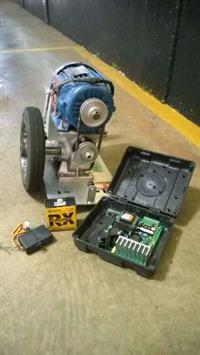 Motor 1 CV + Central Com Receptor para Portão Automático Pivotante