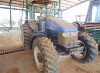 Trator Ford/New Holland TS 100 4x4 ano 05