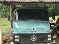 Caminh�o  Mercedes Benz (MB) 1113  ano 69