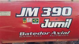 COLHEDORA JM 390 COM PLATAFORMA DE MILHO E CEREAIS