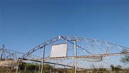 Estrutura Metálica de Aço Galvanizado - Estufa