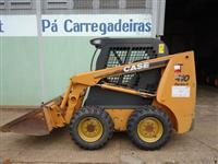 Mini Carregadeira, Case, 410 série 3, ano 2010