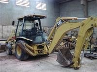 Retroescavadeira, Caterpillar, 416D 4x2, ano 2005,  Valor R$ 75.000,00