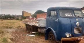 Caminhão  FNM D 11000 Alfa Romeo  ano 70