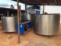 Tanque de resfriamento de leite Etscheid - 1600 litros