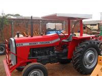 Trator Massey Ferguson 265 4x4 ano 78
