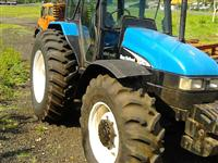Trator Ford/New Holland tl100 4x4 ano 04