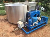 Tanque de leite 4000 L - Incomar