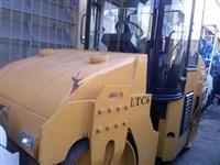 Rolo Vibratório 2011, 6 ton, tande p/ Asfalto, importado Lutong motor Shangay
