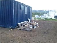 """Container Habitavel com WC """"Baratissimo"""""""