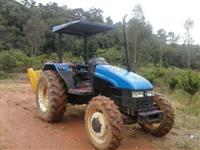 Trator Ford/New Holland TL55 4x4 ano 02
