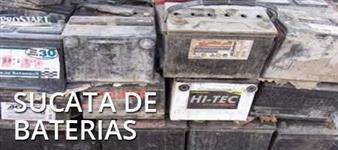 SUCATA DE BATERIA E CHUMBO