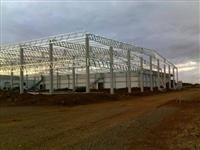 Fabricação e Montagem de Estruturas Metálicas e Galpões Industriais