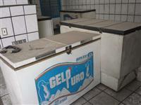 FREEZERS, compressor de ar, furadeira e máquina de lavar peças