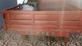 carreta madeira 02 rodas - fabricação propria