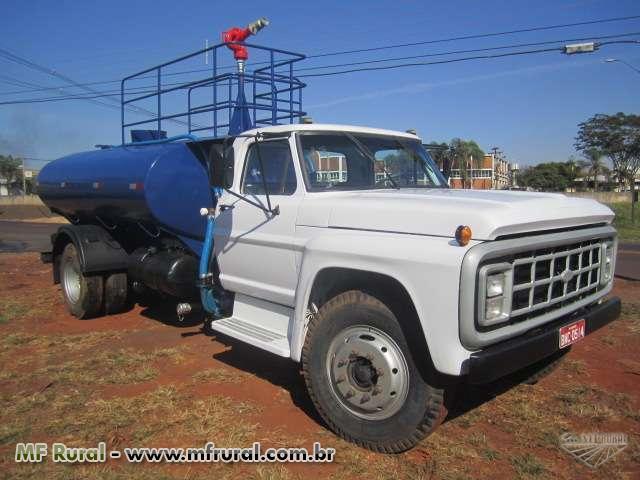 Caminhão  Ford F 11000 Tanque de água, Pipa, Bombeiro.  ano 91
