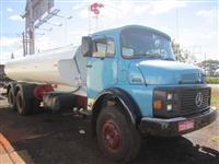 Caminhão  Mercedes Benz (MB) MB L 2213 Tanque de água Pipa Bombeiro  ano 81