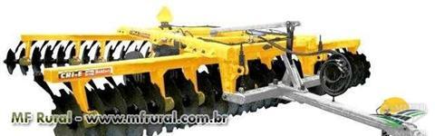 Grade Aradora Intermediária Controle Remoto 36x28 BALDAN- Nova