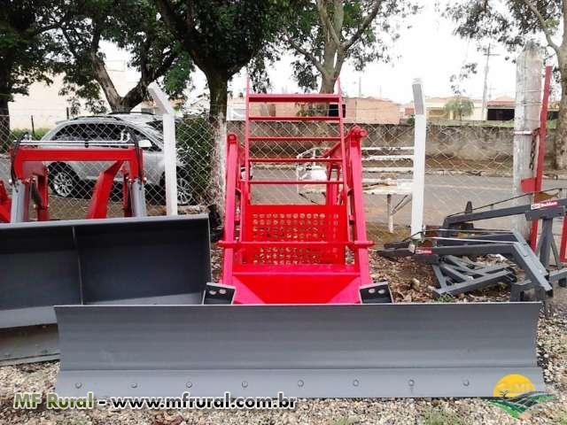 Conjunto de Lamina para Trator Massey Ferguson 4275 4x4 - Baldan - Nova