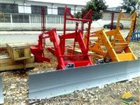 Conjunto de Lamina para Trator Massey Ferguson 680 4x4 novo BALDAN