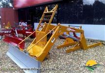 Conjunto de Lamina para Trator Vatra BH 180 4x4 - Baldan