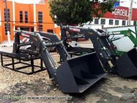 Conjunto de Concha ou Lamina para Tratores VALTRA A 950 4x4- BT - BALDAN