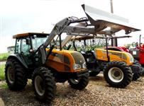 Trator Valtra/Valmet BM 125 4x4 Ano 2008 com Lamina PAD 750 Stara  4x4 ano 12