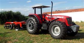 Trator Massey Ferguson 4292 com lamina e Grade Aradora  4x4 ano 10