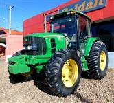Trator John Deere 6110 J Cabinado 4x4 ano 11