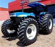 Trator Ford/New Holland 7630 com Redutor de Veloçidade  4x4 ano 08
