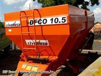 Distribuidor Calcario 10.500 Kg ( Civemasa TATU ) nova Pronta entrega