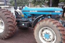 Trator Ford/New Holland 8030 entrada 18.800 + 4 ANOS 4x4 ano 98