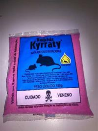 RATICIDA KYRRATY 100g CX3KG