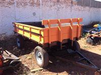 Carreta de 4 rodas para 4 toneladas