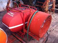 Pulverizador de 400 litros com turbina