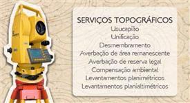 SERVIÇOS TOPOGRAFICOS