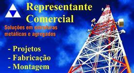 Torres de telecomunicações, medições e vigilância florestal