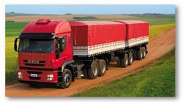 Lonas para caminhões
