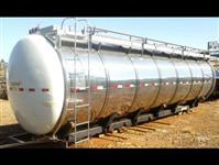 Tanque transporte leite 22.000 litros semi-novo