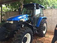 Trator Ford/New Holland TS 6020 4x4 ano 012
