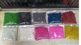 pp granulado em varias cores