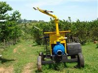 Conjunto, motobomba, motor de irrigação diesel com bomba KSB 100-40-2