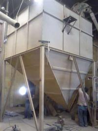 silo/caixa/tulha/caixa metalica suspença