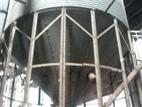 elevador elevado 800sacas fundo cônico