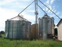 Industria armazenamento gr�os e esmagamento soja