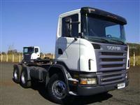 Caminhão  Scania G 470  ano 08